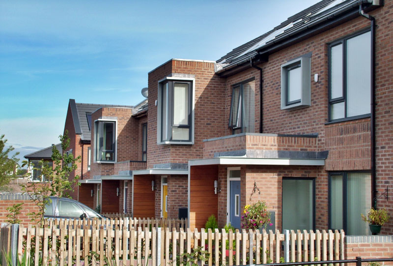 124 New dwellings : Rockferry, Wirral