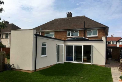 Photo of wirral extension.