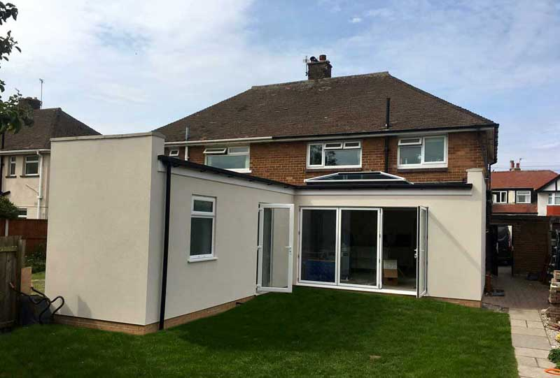 Rear extension : West Kirby, Wirral