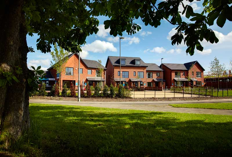 128 New Houses : Woodlane, Liverpool