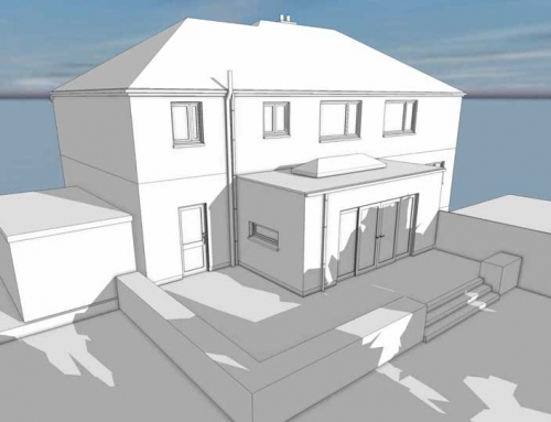 2 storey extension : Irby, Wirral