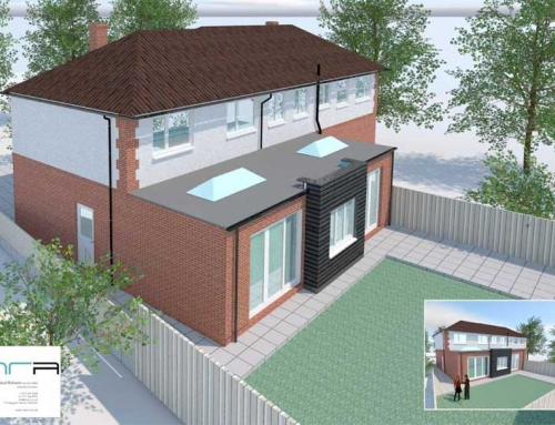 Private residential extension : Hoole, Chester